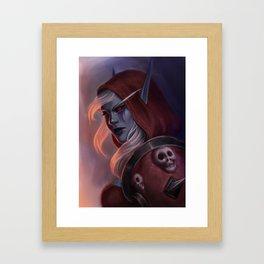 Sylvanas Windrunner Framed Art Print