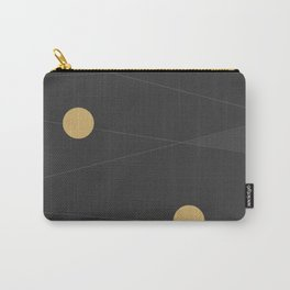 Black and Gold Carry-All Pouch