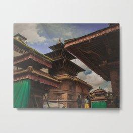Architecture of Kathmandu City 002 Metal Print