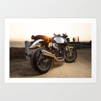 ducati Art Prints featuring Ducati 004 by Austin Winchell