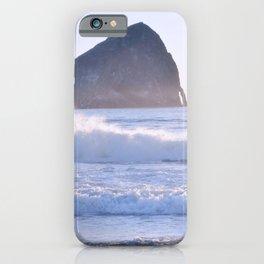 HAYSTACK ROCK - CAPE KIWANDA - PACIFIC CITY - OREGON iPhone Case