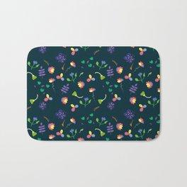 Spring Floral Pattern II Bath Mat