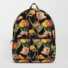 Vintage Floral Pattern | No. 3A | Tulips Backpack