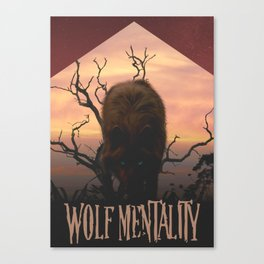 Wolf Mentality Canvas Print