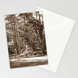 Cannon at Mabry Mill (Sepia) Stationery Cards