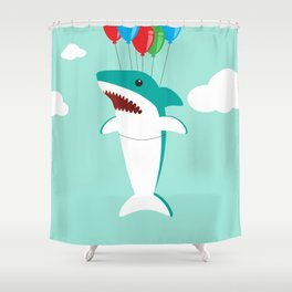Shark Week Shower Curtain