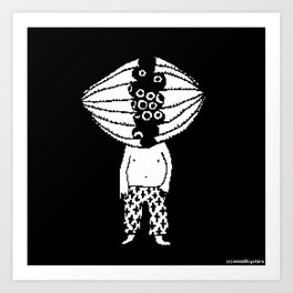 Oxydol Boy Art Print