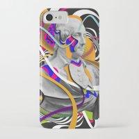 washington iPhone & iPod Cases featuring George Washington by Danny Ivan