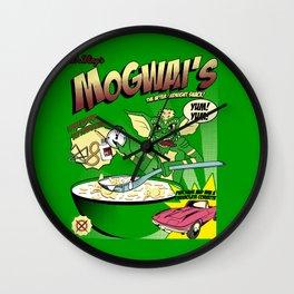 Mogwai's Breakfast the after midnight snak Wall Clock