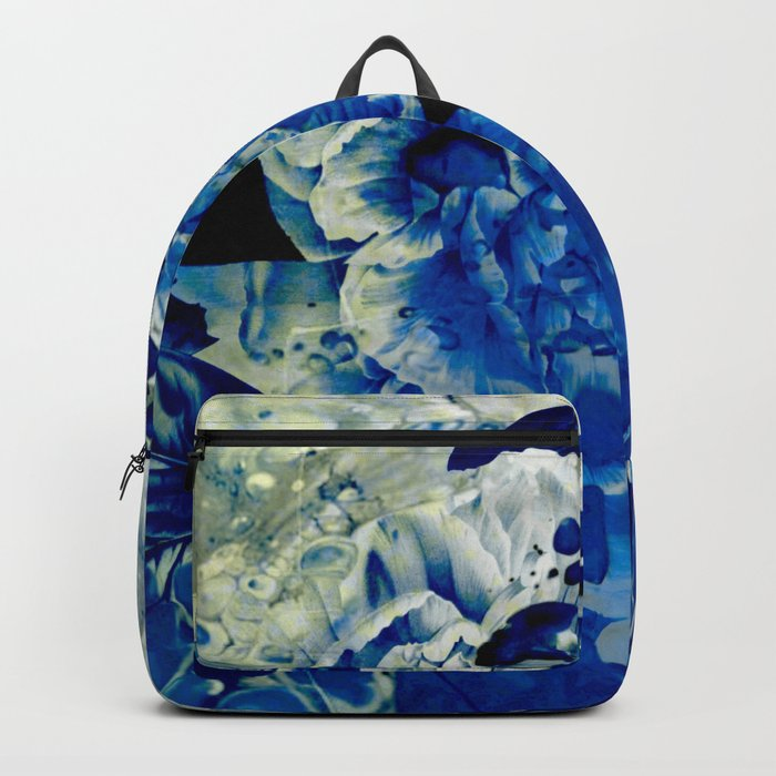 hidden blue peony Backpack