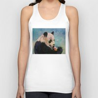 ice cream Tank Tops featuring Ice Cream by Michael Creese