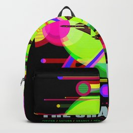 The Grand Tour Black Green Backpack