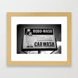Robo-Wash Framed Art Print