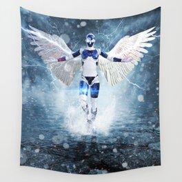 Robot Angel by GEN Z Wall Tapestry