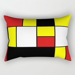 Abstract #378 Mondriaan Rectangular Pillow