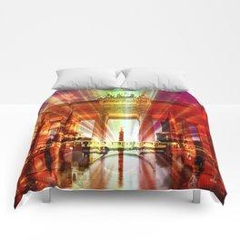 Berlin Collage Comforters