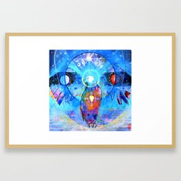 'Tenger - Sky Father' Framed Art Print
