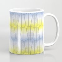 cityscape Mugs featuring Cityscape by shana anderson
