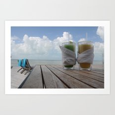 Heaven on a hot summer day..  Art Print