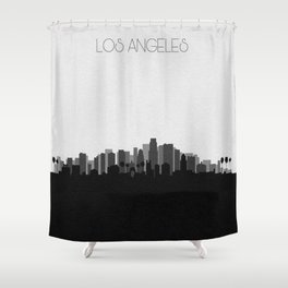 City Skylines: Los Angeles (Alternative) Shower Curtain