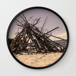 Beach Homes Wall Clock