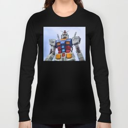 Gundam Stare Long Sleeve T-shirt