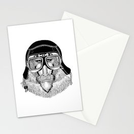 Monkey Speed Rebel Stationery Cards