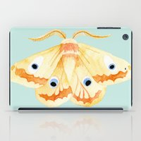 moth iPad Cases featuring moth by terastar