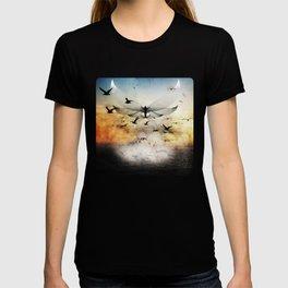 salute the morning T-shirt