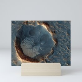 Moon Surface Crater | Space Mini Art Print
