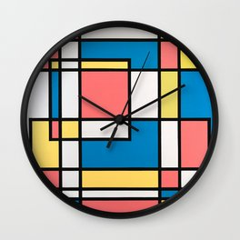 Standing Room Only Wall Clock