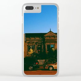 San Francisco at Dusk Clear iPhone Case