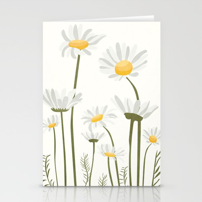 Summer Flowers III Stationery Cards