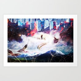 Drift Art Print