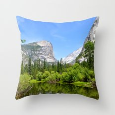 Landscape H Throw Pillow