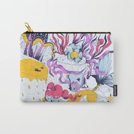 Mermaid on the phone Carry-All Pouch