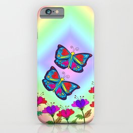 Love like a butterfly iPhone Case