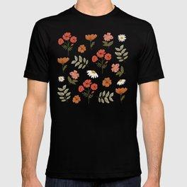 Among the Wildflowers Pattern T-shirt