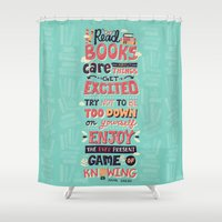 read Shower Curtains featuring Read Books by Risa Rodil