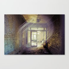 Side Street in Dublin Canvas Print