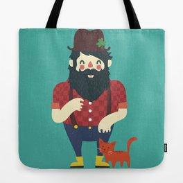 Beard & Kitten Tote Bag