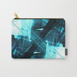 Iceless - Geometric Abstract Art Carry-All Pouch