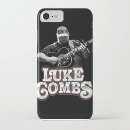 Luke combs Poster iPhone Case