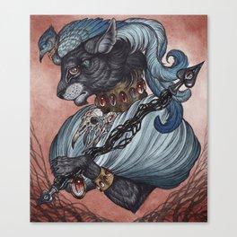 Jack of Spades art print Canvas Print