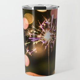 Sparkler (Color) Travel Mug