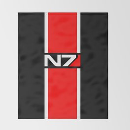 N7 Throw Blanket