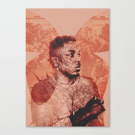 To Pimp A Butterfly Canvas Print