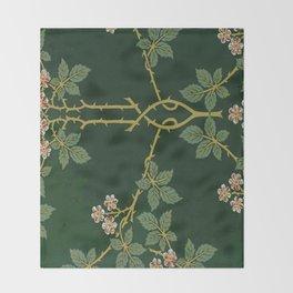 Art work of William Morris Throw Blanket