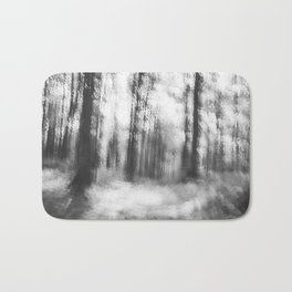 Lost in the woods - abstract infrared photograph Bath Mat