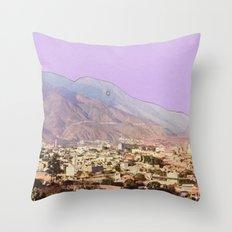 Lilac Skies Throw Pillow